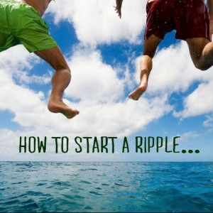 HOW TO START A RIPPLE